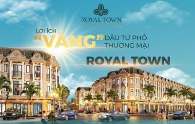 """[Infographic] Lợi ích """"Vàng"""" đầu tư nhà phố thương mại ROYAL TOWN"""