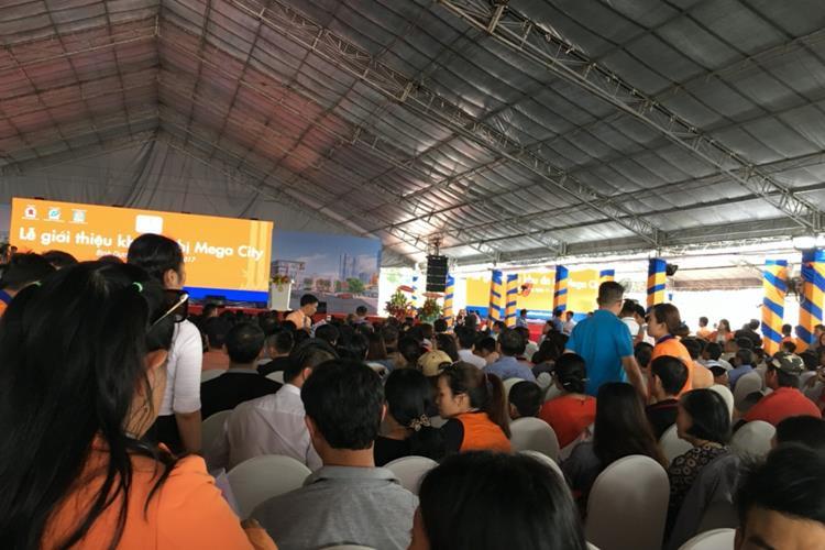 Lễ mở bán dự án đất nền Mega City Bình Dương