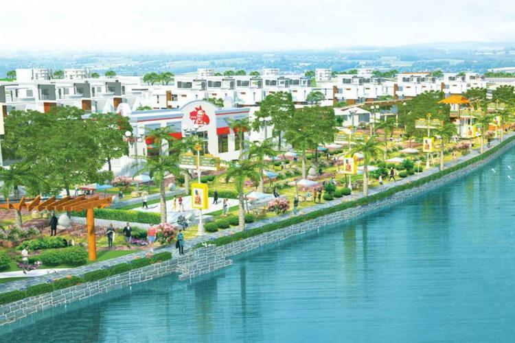 Dự án nằm ngay mặt tiền sông Thị Tính