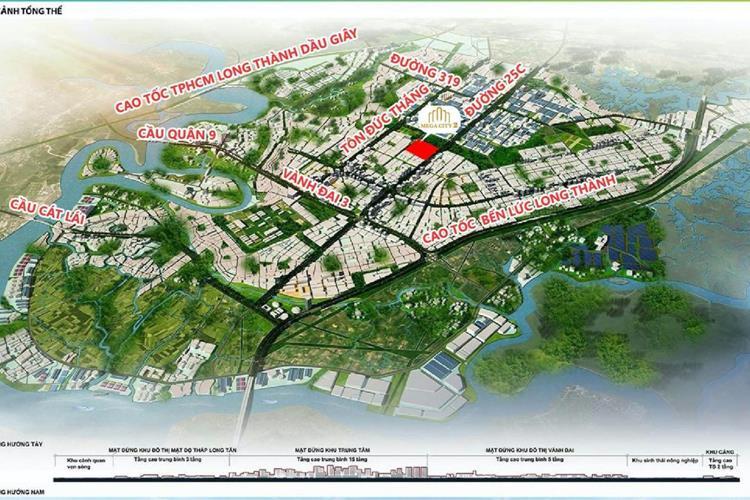 Các tuyến giao thông trọng điểm của dự án Mega City 2 Nhơn Trạch, Đồng Nai