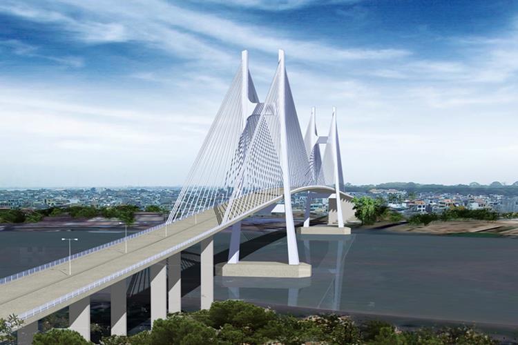 Cầu Cát Lái nối liền huyện Nhơn Trạch và TP.HCM