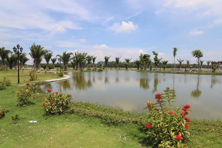 Hồ cảnh quan dự án Mega City 2 Nhơn Trạch