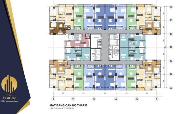 Thiết kế căn hộ tại The East Gate Bình Dương