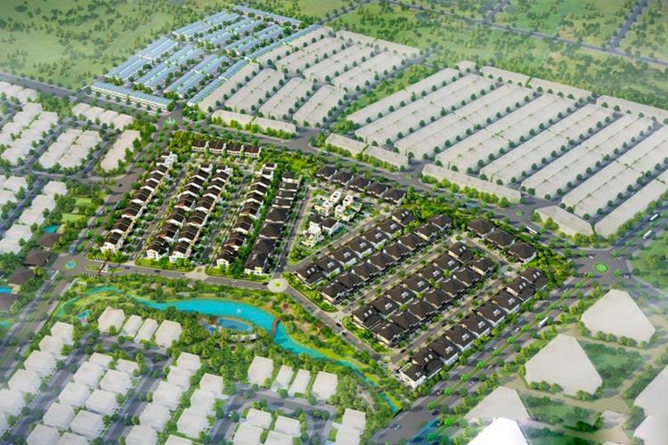 Mặt bằng tổng thể dự án Ecolakes Mỹ Phước Bình Dương
