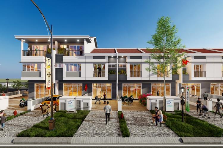 Thiết kế nhà phố tại Ecolakes Mỹ Phước Bình Dương