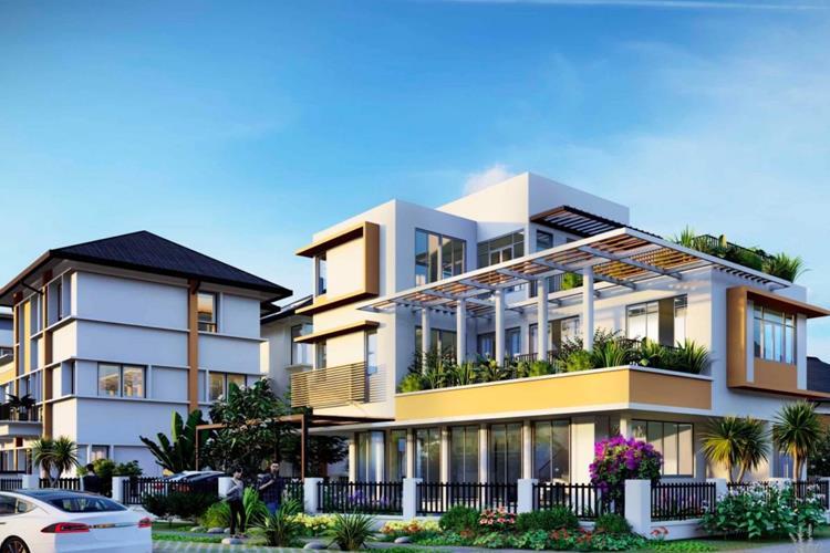 Thiết kế biệt thự tại Ecolakes Mỹ Phước Bình Dương