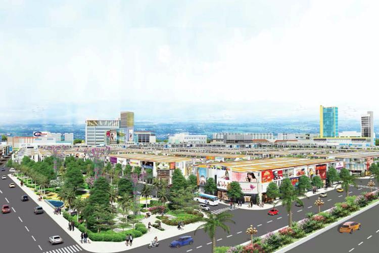 Trung tâm thương mại sầm uất của dự án Golden Center City 3