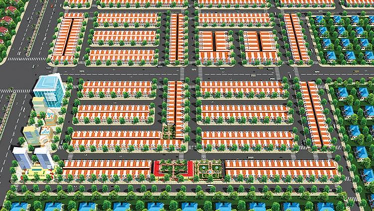 Phối cảnh dự án đất nền Richhome Bến Cát