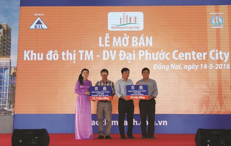 Lễ mở bán chính thức dự án đất nền Đại Phước Center City tại Nhơn Trạch vào ngày 14/05/2016