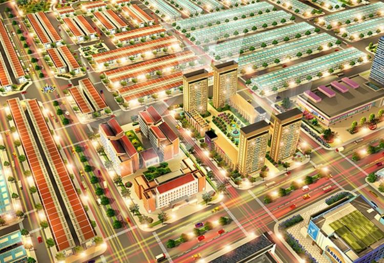 Phối cảnh toạ lạc vàng dự án Kim Oanh Nhơn Trạch Richland City