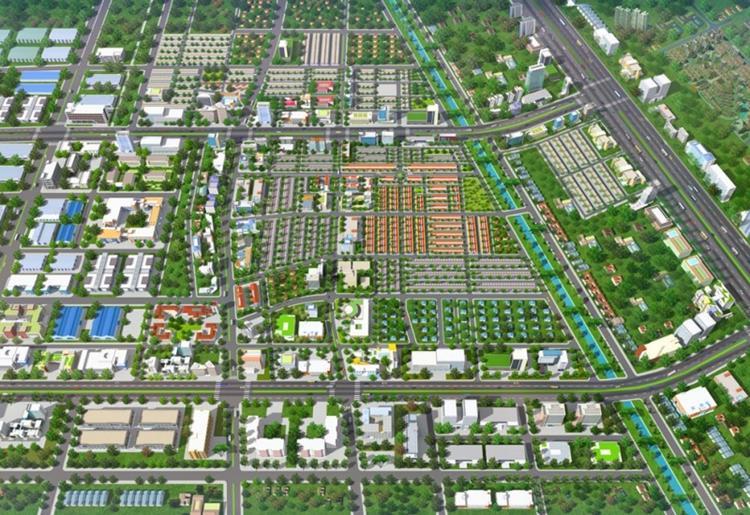 Phối cảnh dự án Kim Oanh Nhơn Trạch Richland City