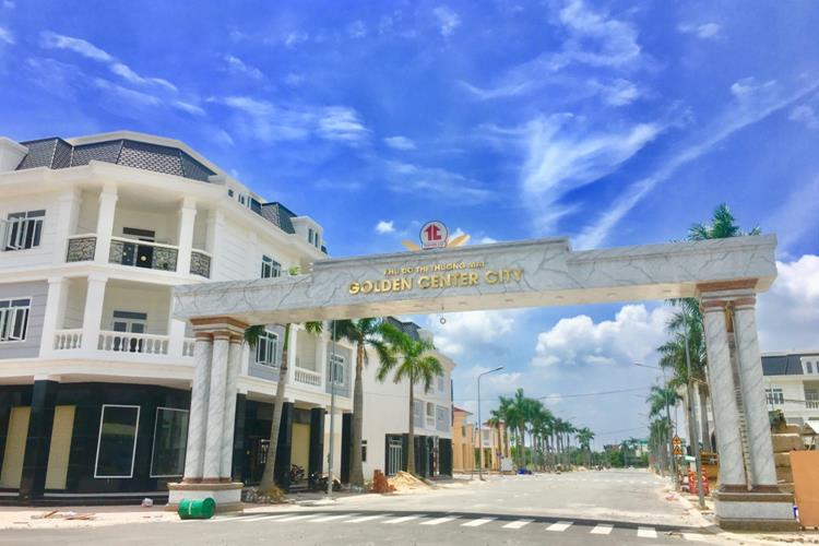Cổng dự án Golden Center City 3 Bình Dương