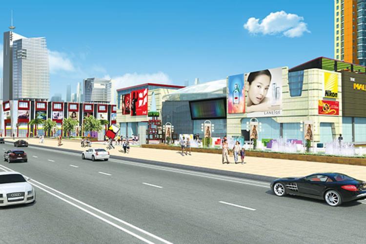 Đất nền The Mall City