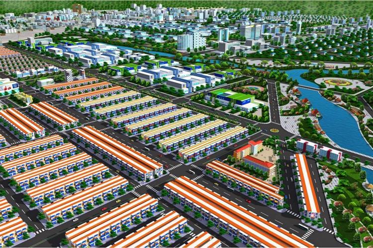 Phối cảnh dự án The Mall City 2