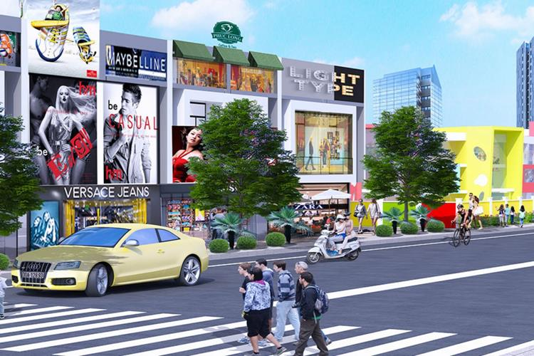 Trung tâm thương mại nội khu dự án