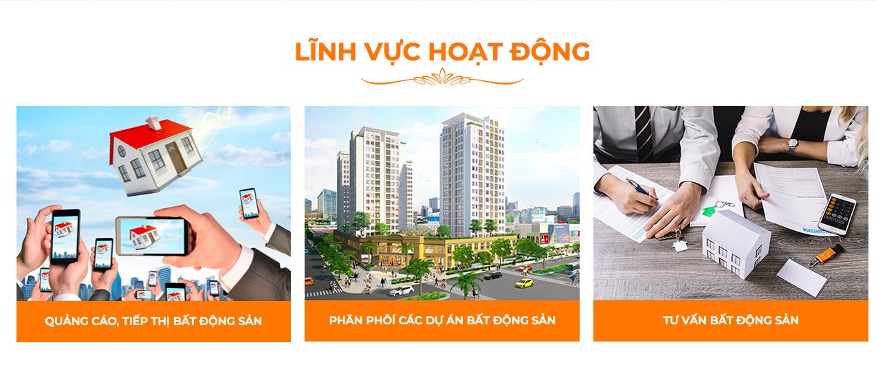 Lĩnh vực hoạt động của Công ty Kim Oanh